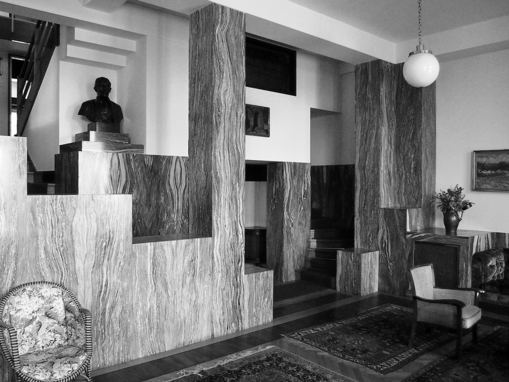 Adolf loos steiner house interior