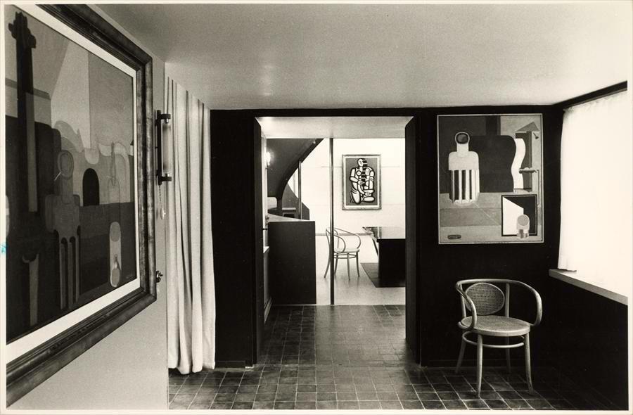 maison la roche jeanneret the charnel house. Black Bedroom Furniture Sets. Home Design Ideas