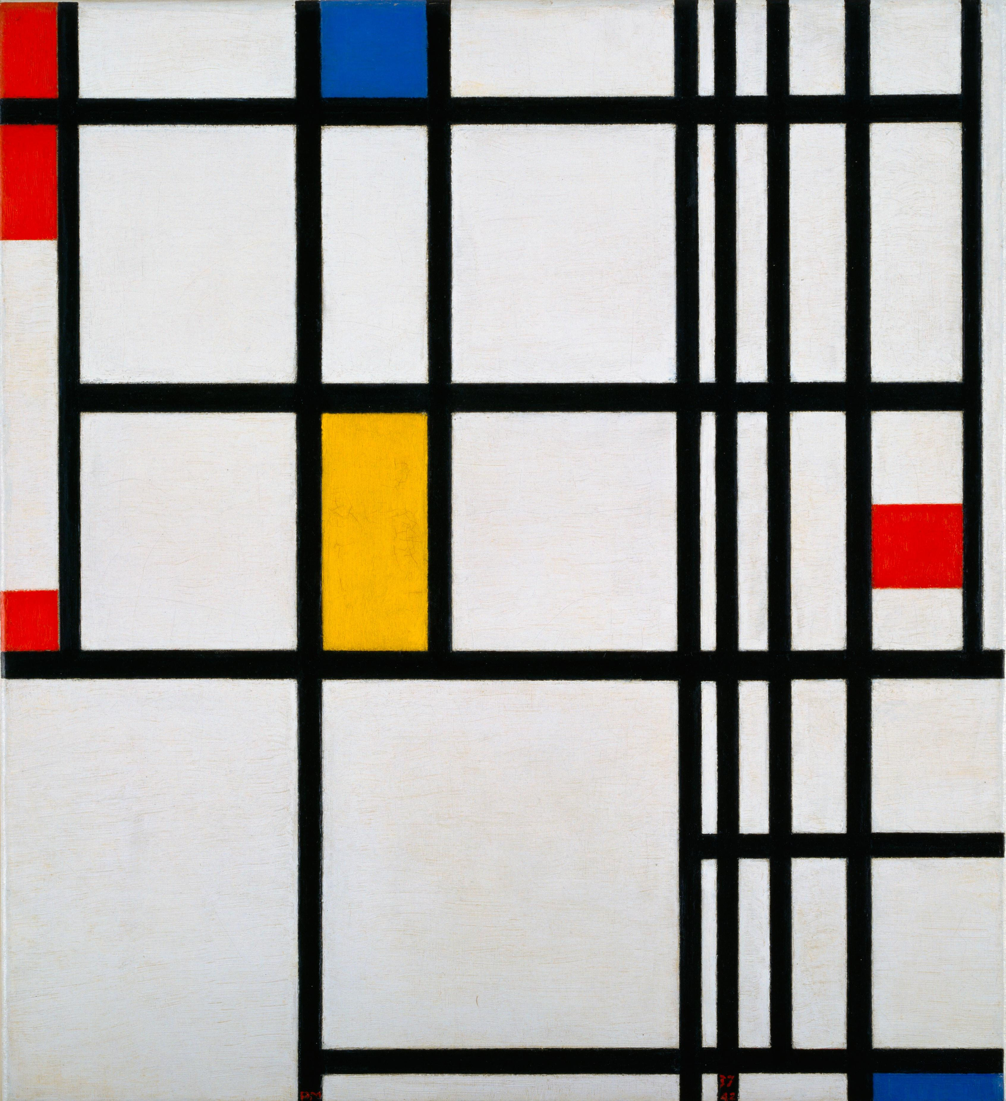piet mondrian Mondrian, who had escaped to new york from europe after the outbreak of world war ii, delighted in the city's architecture he was also fascinated by american jazz, particularly boogie-woogie, finding its syncopated beat, irreverent approach to melody, and improvisational aesthetic akin to what he called, in his own work, the destruction of.