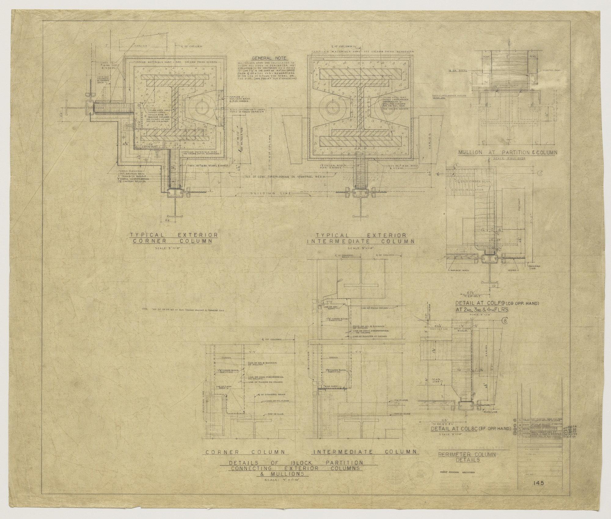 ludwig mies van der rohe with philip johnson kahn jacobs seagram