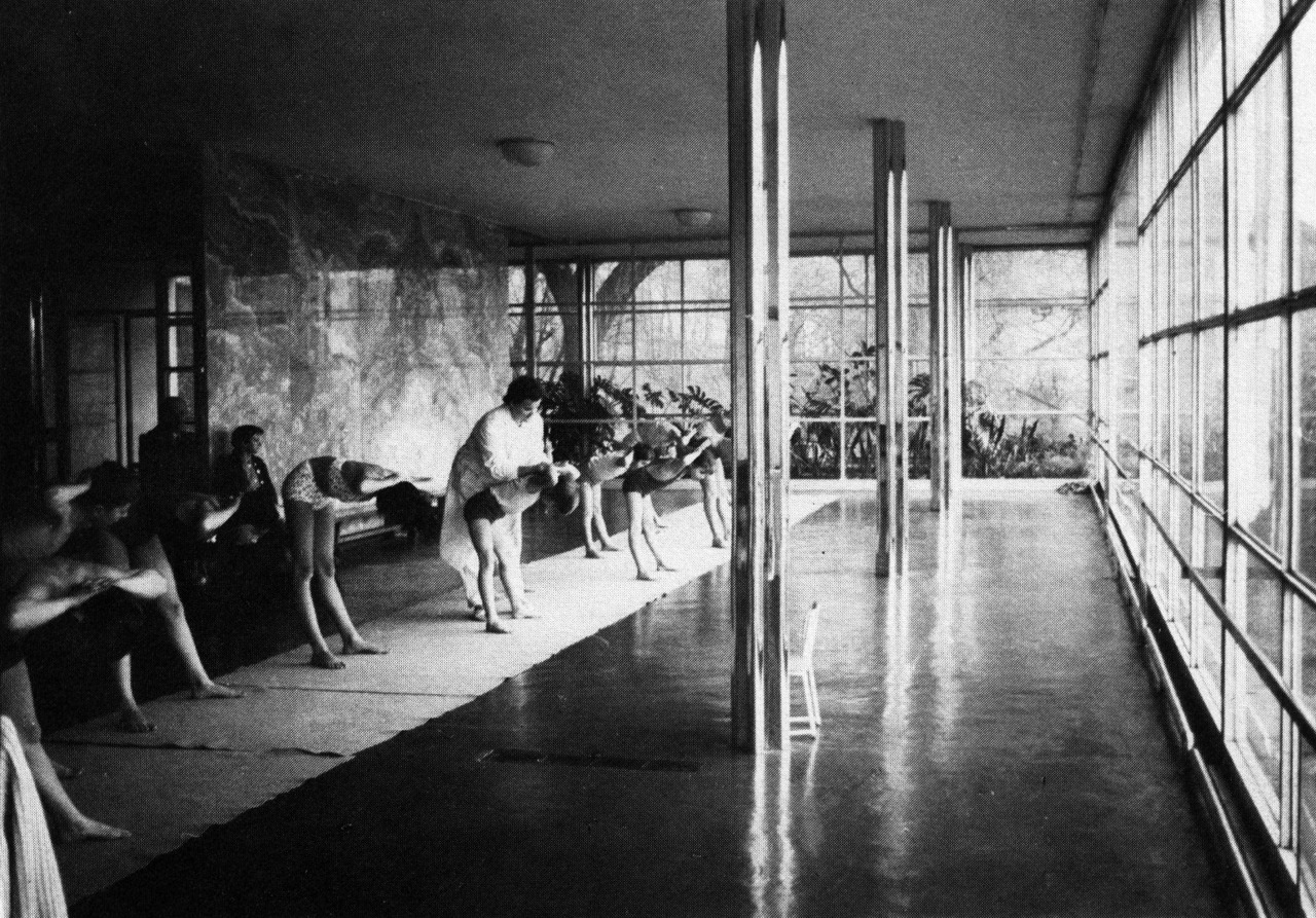 Mies Der Rohe Villa Tugendhat mies der rohe tugendhat house as a gymnasium for handicapped